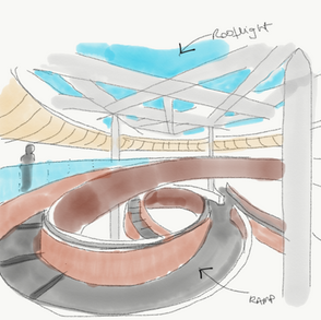 Lobby & rooflight