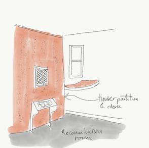 Sketch - reconciliation room
