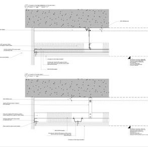 Detail - acoustic ceiling