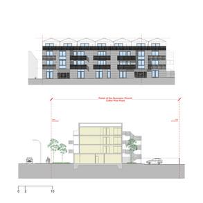 Elevation - flats development