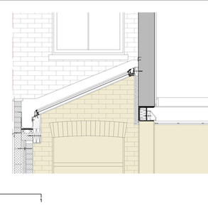 Detail - rooflight