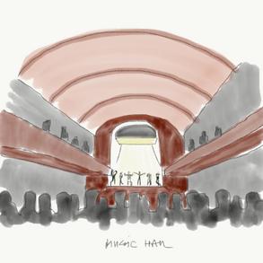 Interior music hall