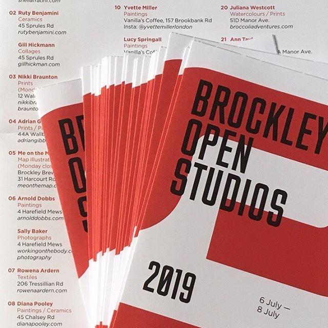 BROCKLEY OPEN STUDIOS 2019