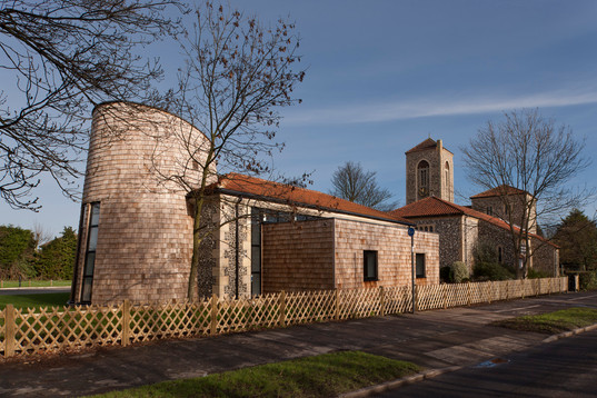 New hall for a Giles Gilbert Scott's church in Brodstairs