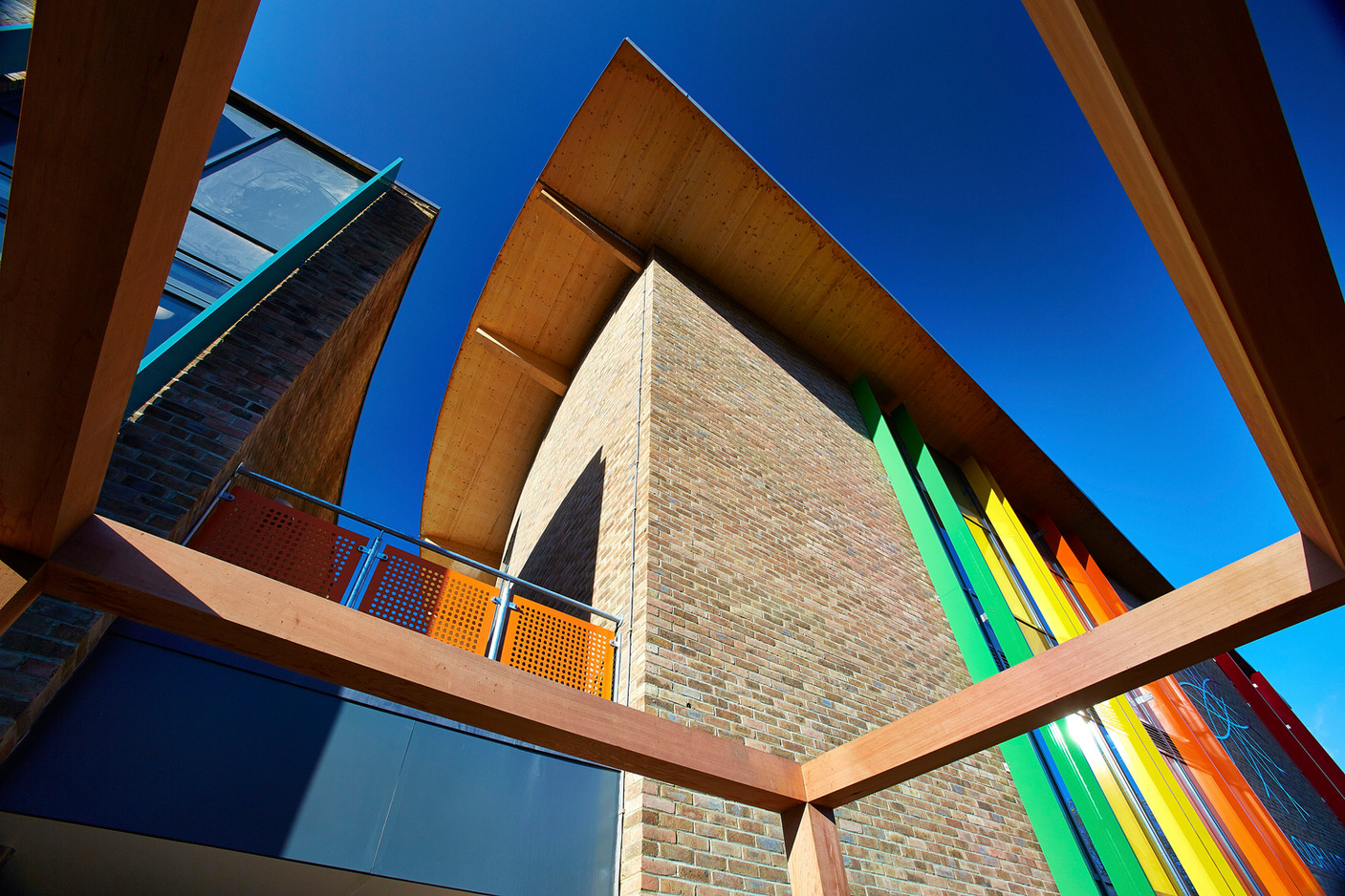 Cross-laminated timber primary school