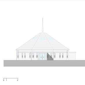Elevation - entrance