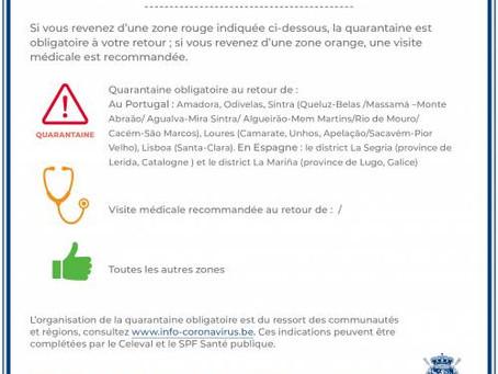 ✅ România este pe lista verde a călătoriilor înspre și dinspre Belgia!