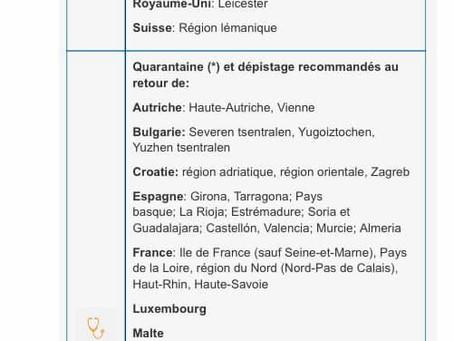 Belgia impune carantina pentru 24 de județe din România!