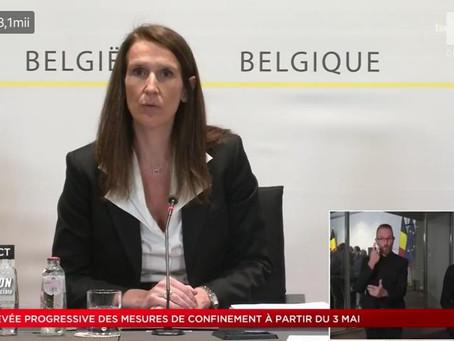 Belgia - Stăm acasă până pe 3 mai 2020!