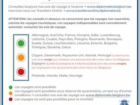 Fără carantină în Belgia pentru cei care vin din România!