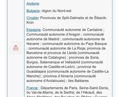 Toată România este zonă roșie pe harta turistică belgiană!
