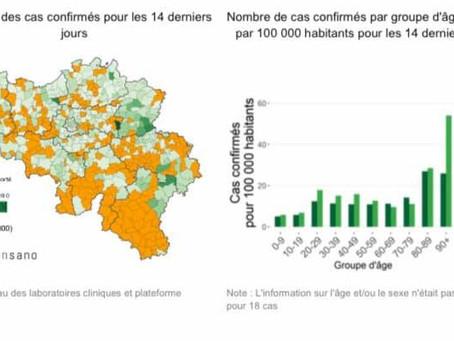 Belgia: cifre epidemiologice încurajatoare și astăzi!