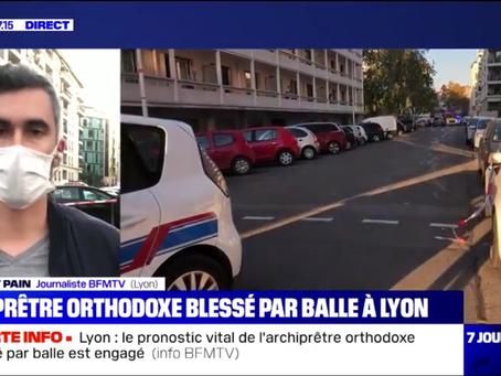 Atac la Lyon! Victima este un preot ortodox grec!
