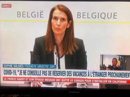 Belgia: stăm acasă până pe 19 aprilie 2020