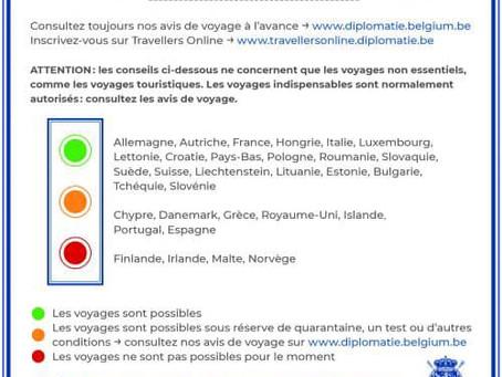 România este destinație fără restricții pentru cei care călătoresc din Belgia
