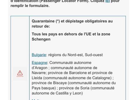 Aproape toată România devine zonă roșie la revenirea în Belgia!