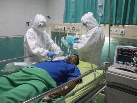 20 de oameni ajung zilnic în spital cu Covid-19