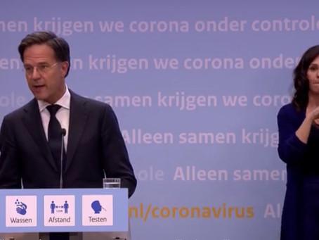 Olanda revine la restricții mai dure începând de sâmbătă timp de o lună