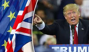 Donald Trump laudă Uniunea Europeană pentru unitatea arătată după Brexit