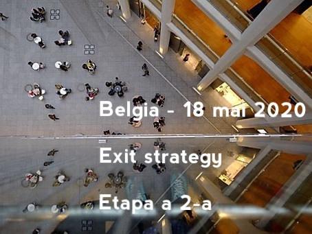 18 mai 2020 - a doua etapă a relaxării restricțiilor sanitare. Ce se schimbă în Belgia