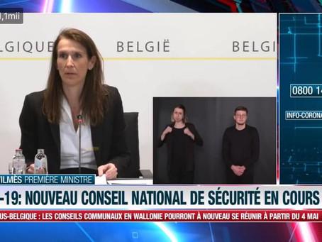 COVID-19. Belgia: Deciziile Consiliului Național de Securitate!