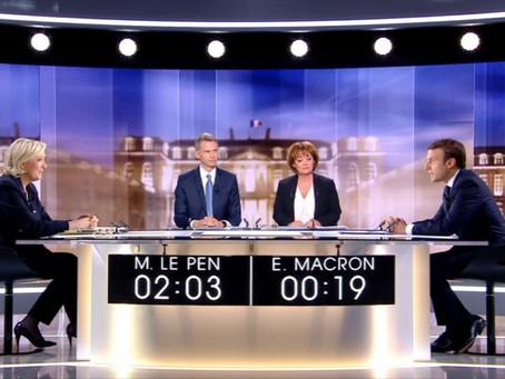 Franța - Macron, câștigător detașat al dezbaterii televizate