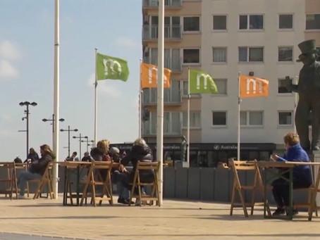 La Middelkerke, primarul are o idee inedită pentru a deschide terasele cu o săptămână mai devreme