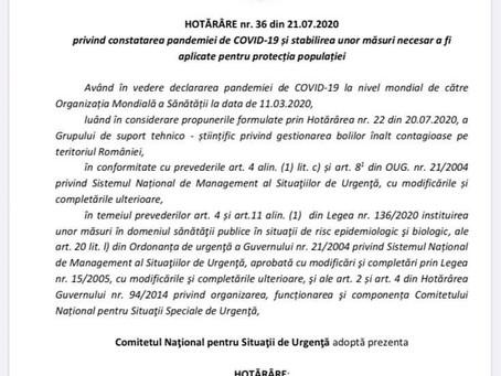 Ce prevede noua lege privind carantina în România?!