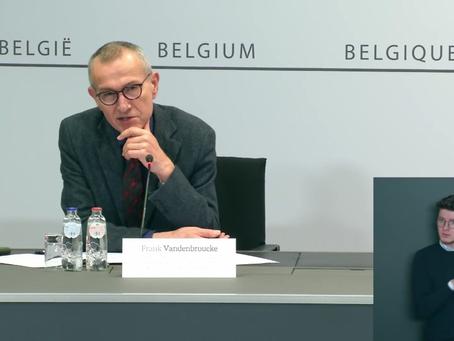 Frank Vandenbroucke: Miercuri luăm o decizie cu privire la revizuirea campaniei de vaccinare