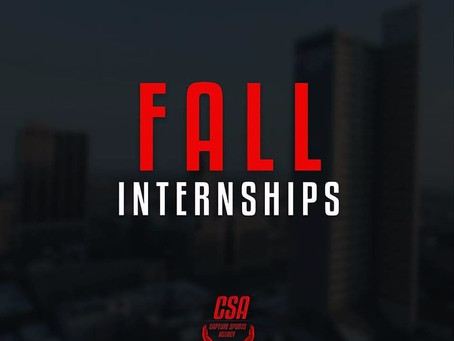Fall 2017 Marketing, Graphic, and Sports Consultant Internship