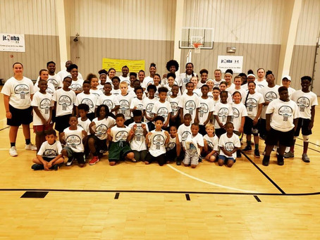2018 You Can't Stop Me Youth Skills Camp with Tamika Catchings!