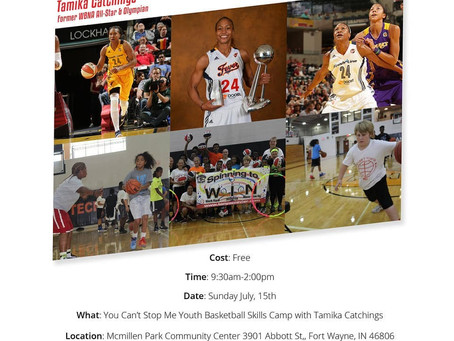 2018 You Can't Stop Me Youth Skills Camp