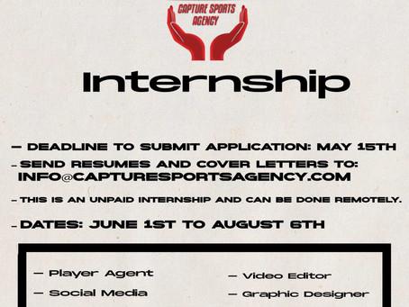 Summer Internships!
