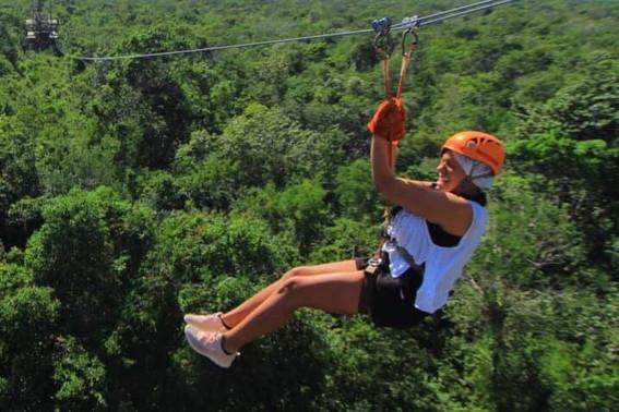 Cancun, Mexico Zip line