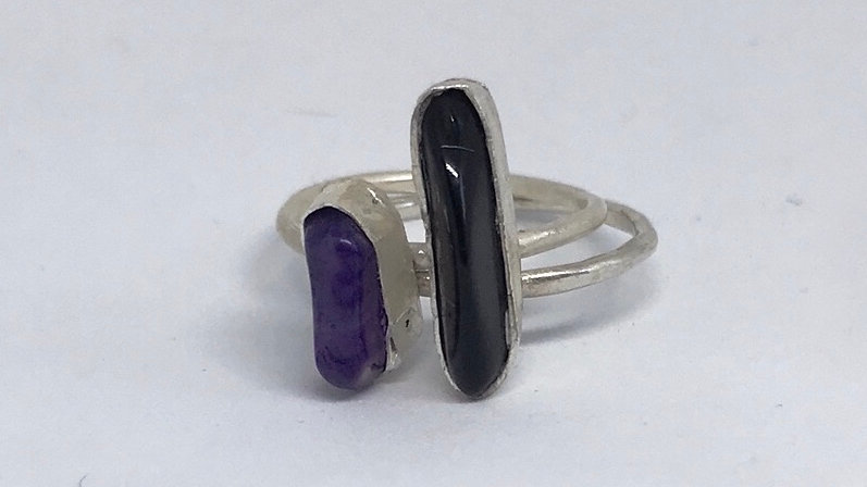 Dobby Stacker Stone rings