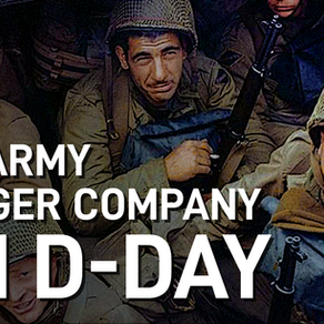 Video: US Army Ranger Company on D-Day