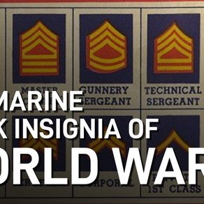 Video: US Marine Ranks of World War II