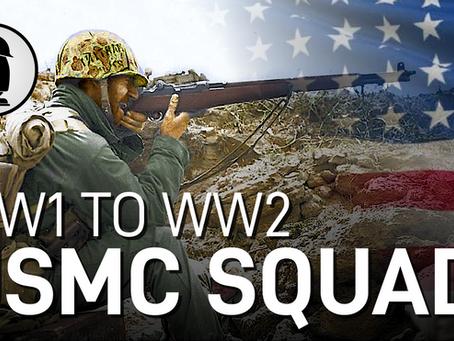 Devil Dogs: U.S. Marine Rifle Squad (Part 1) - WW1 to WW2
