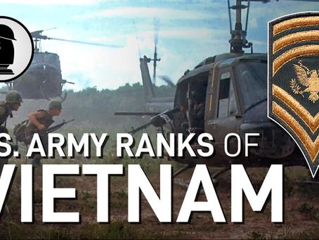 U.S. Army Rank Insignia of the Vietnam War