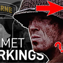 101st Airborne Helmet Markings & D-Day Dropzones [Explained]