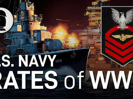 U.S. Navy Enlisted Rank & Rates of WW2