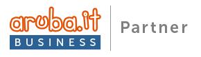 Badge Aruba Business Partner Orizzontale