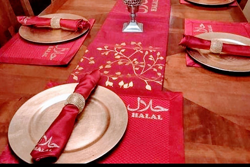 Halal Placemats and Napkins