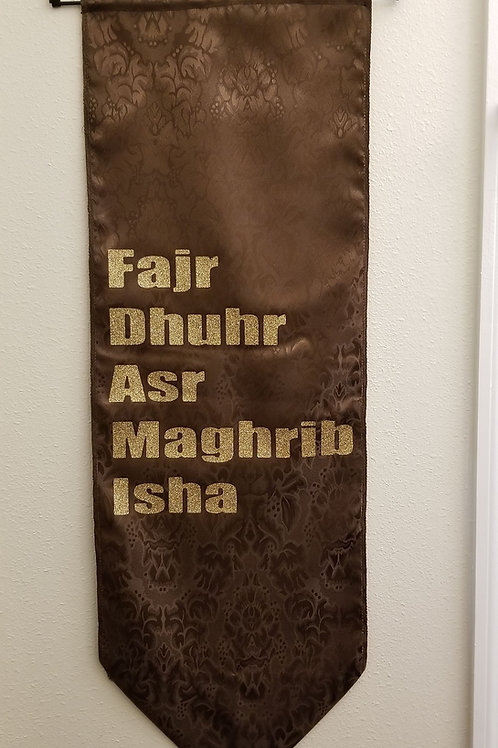 5 Prayers Banner