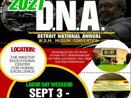 Detroit National Annual W.D.M. Muslim Convention