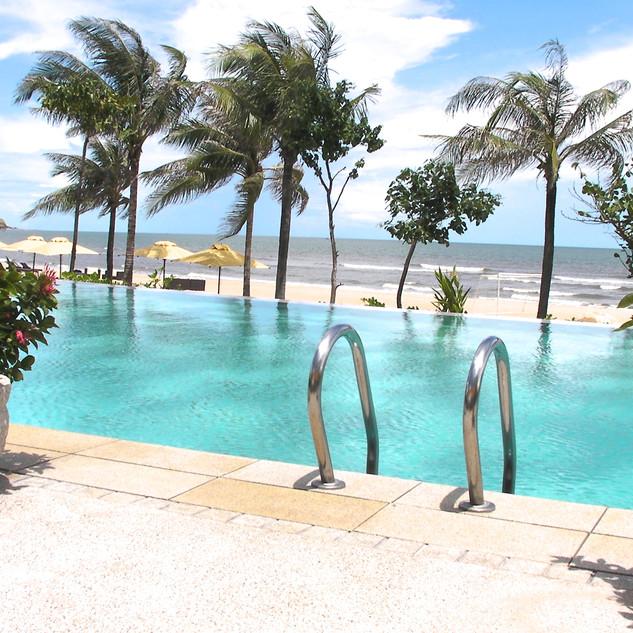 poolside Vietnam