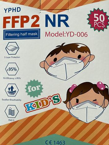 FFP2 Kinder und Jugendliche