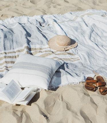 La serviette fouta 110 X 180 cm