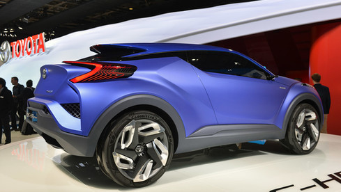 Toyota CHR Concept design Ken Billes