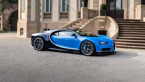 Bugatti Chiron design exter Sasha Selipanov